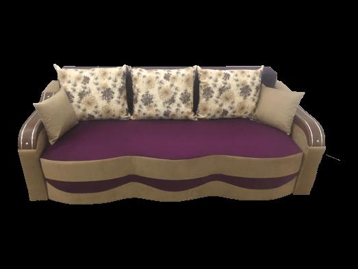 Canapea extensibilă mov cappuccino - model MILANO