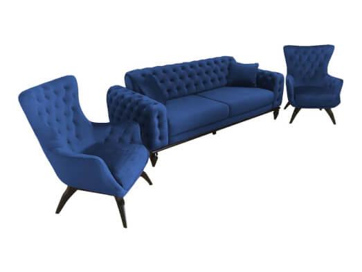 Set-canapea-cu-2-fotolii-albastru-JASMINE-unghi-80