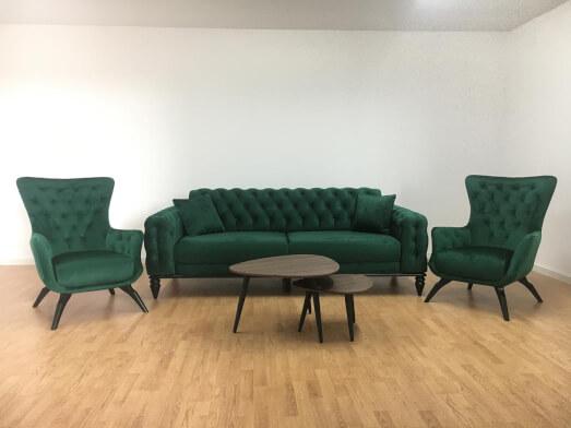 Set-canapea-cu-2-fotolii-verde-JASMINE-2a