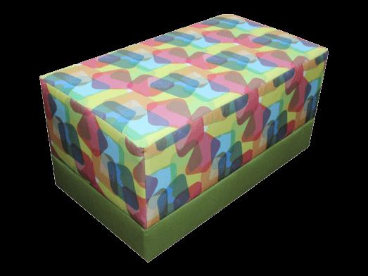 Taburet multicolor