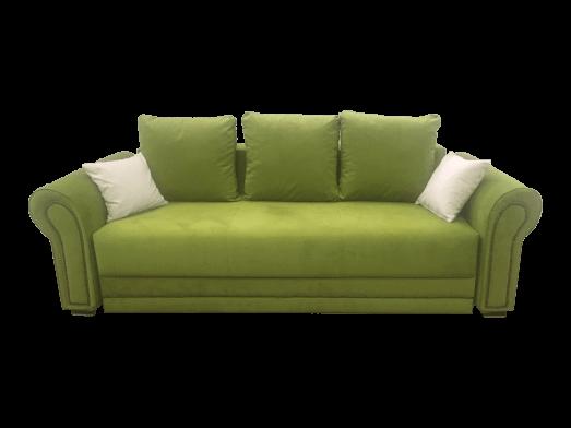 Canapea extensibilă verde - model ALEXANDRA