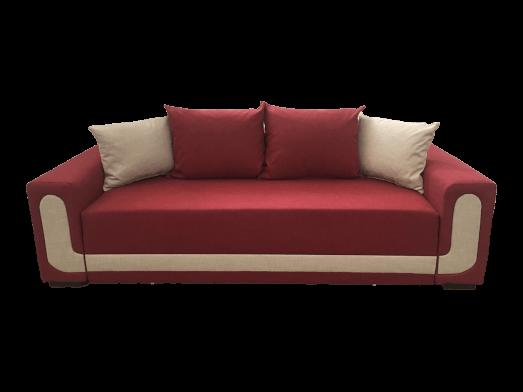 Canapea extensibilă cu saltea relaxa, roșie - model EVA