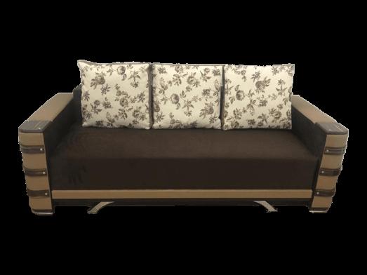 Canapea extensibilă maro crem - model Lara