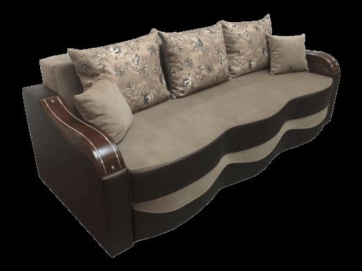 Canapea extensibilă cappuccino maro - model MILANO