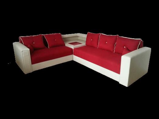 Colțar extensibil roșu alb - SARA